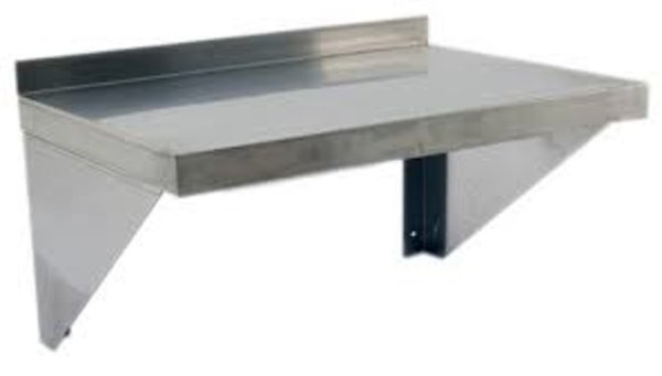 Countertop Ice Maker Ireland : Home / Cater-Cook CK8064 Stainless Steel Microwave Shelf W600 x D400mm
