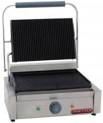 Countertop Ice Maker Ireland : ... Large Single Contact Grill - Ribbed top & bottom - Caterkwik Ireland