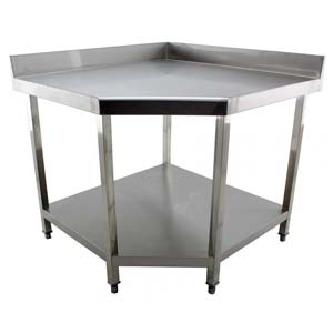 Stainless Steel Corner Tables