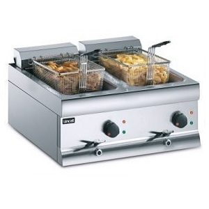 Twin Tank Counter-Top Electric Fryers