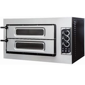 Twin Deck Pizza Ovens