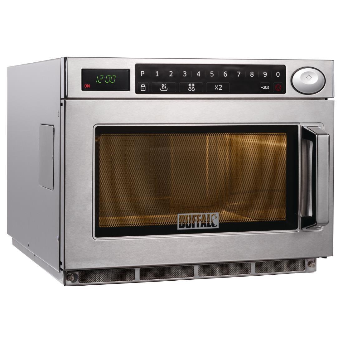 Reverse Microwave Oven: Buffalo GK641 Programmable 1500W Commercial Microwave